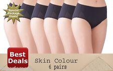 XL 16 PLAYTEX Control Briefs 6 Pairs Skin S96E