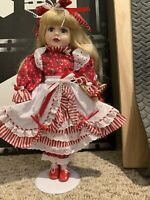 Victorian Bows Collection Porcelain Doll 1998 Holiday Edition
