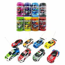 Coke Can Mini Racing Car Super Speed RC Radio Remote Control Micro Toy Gift New