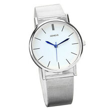 Geneve Women's Fashion Watch Stainless Steel Band Quartz Wrist Watches Watch