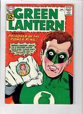 "GREEN LANTERN #10 - Grade 5.0 - Silver Age ""Prisoner of the Power Ring!"""