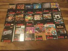 Super Nintendo Anleitungen Super Mario Donkey Kong usw. Große Auswahl !!