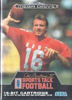 Joe Montana II Sports Talk Football Sega Mega Drive Game
