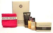 MOLTON BROWN OATMEAL SOAP, ORANGE, CEMPEKA & TOKO YUZU FACE CLOTH GIFTSET  (P93)