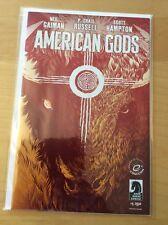 AMERICAN GODS 1, NM (9.2 - 9.4) ECCC 1/500 BECKY CLOONAN VARIANT, NEIL GAIMAN