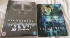 Prometheus- Zavvi UK 3D Blu-Ray Steelbook -  + 3D Lenticular magnet NEW