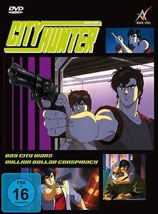 City Hunter - Bay City Wars/Million Dollar Conspiracy (OVA)[DVD/NEU/OVP] Limited
