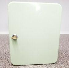 Lt Green Steel 60 Key Cabinet Locker Lockbox Mountable Secure Home Auto Storage