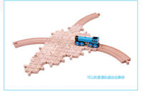 Wooden Thomas Accessories Stacking Risers Train Trains Set Track Railway Bundle