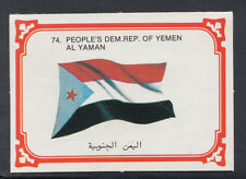 Monty Gum 1980 Flags Cards - Card No 74 - Yemen (T611)