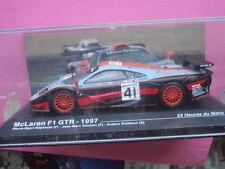 VOITURE MINIATURE 1/43è   Mac LAREN F 1 GTR N° 41   24 Heures du Mans 1997