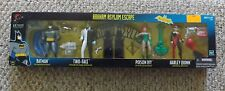NEW BATMAN ARKHAM ASYLUM ESCAPE TWO-FACE POISON IVY HARLEY QUINN 4 FIGURE SET