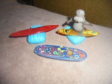 McDonalds Happy Meal Disney Surf's Up Lot Reggie Belefonte Beaver Waves Board 6