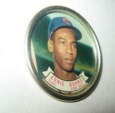 Vintage 1964 Ernie Banks Topps Baseball Coin #42 Chicago Cubs Collectible MLB