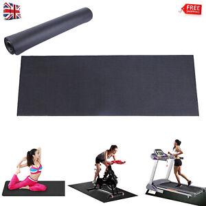 180cm Thick Equipment Mat Yoga Gym Fitness Treadmill Exercise Bike Protect Floor