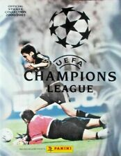 2000-2001 PANINI CHAMPIONS LEAGUE - ALBUM + FULL SET - PERFECT