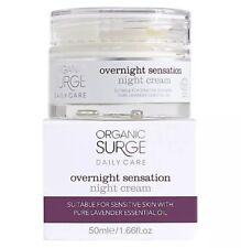 Organic SURE Daily Care Overnight Sensation Night Cream 50ml