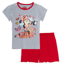 Disney Ragazze Re Leone Pigiama Corto Bambino Simba Nala Shortie Pjs Set Nightwear