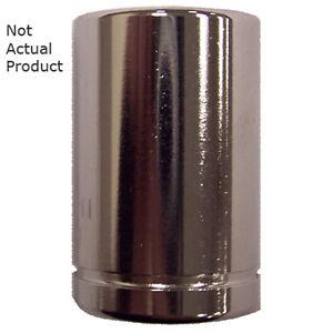 "K Tool 26112 Cromo Enchufe, 1/4"" Conducir, 12mm, 6 Punto, Shallow"
