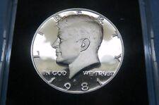 "1981-S  U.S. KENNEDY ""S-PROOF"" HALF DOLLAR San Francisco Mint in Display Case #3"