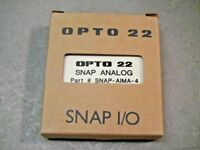 OPTO 22 SNAP-AIMA-4 Analog Current 4-Channel Input Module -20 to +20mA Snap I/O