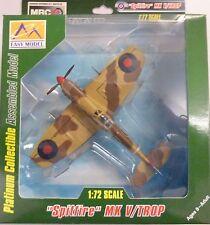 Easy Model MRC 1/72 Spitfire MK V Trop RAF 249th SQN WWII Built Up Model  37218