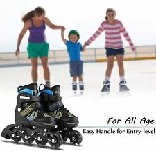 Inline skates Inliner Raven Profession verstellbar S/M/L Größe Rot Fitness