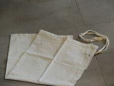 Linge ancien / tablier de restauration ou boucherie Metis/coton ecru