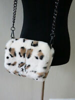 100% real rex rabbit fur shoulder bag/cell leopa bag/ art-craft bag women purse