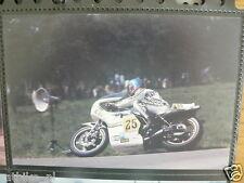 S0909-TEUVO LANSIVUORI SUZUKI 500 CC RAALTE 1977 NO 25 PHOTO COLOR MOTO GP DAINE