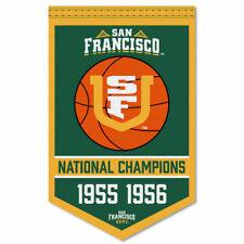 San Francisco Dons Basketball National Champions Banner Flag