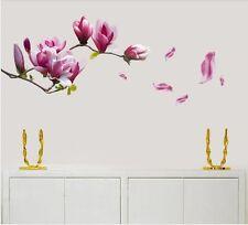 vinyle amovible MAGNOLIA FLEURS Autocollant Mural Art Mural Maison décalcomanie