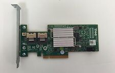 Original Dell PERC H200 Adapter 8Port 6Gb/s SAS SATA Controller Card=LSI 9211-8I