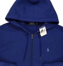 Men's POLO RALPH LAUREN Royal Blue Hoodie Hooded Sweatshirt M Medium NWT NEW