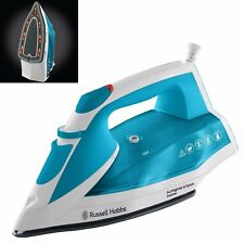 BRAND NEW RUSSELL HOBBS Supreme 23040 Steam Iron Automatic shut-off White & Blue