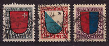 Schweiz 153 - 155 Pro Juvente 1920 gestempelt  #e526