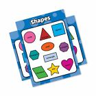 Shapes - Educational Poster Chart - Laminated - Double Sided (18 x 24) 18 x 24