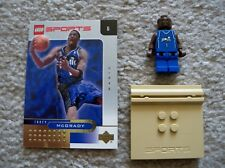 LEGO Basketball - Rare - NBA Tracy McGrady Orlando Magic #1 w/ Gold Card