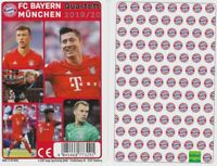 FC Bayern München Quartett Kartenspiel 2019 / 2020 Karten Fußball Neu OVP