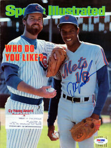 Dwight Doc Gooden Autographed Signed Sports Illustrated Mets PSA/DNA X65231