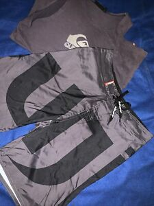 UNIT RIDERS ALLIANCE Shorts Size 30 And QUICKSILVER Tank Size S.. Mens