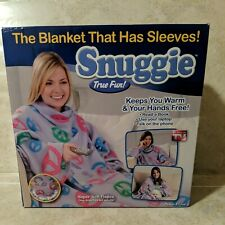 Snuggie The blanket that has sleeves Peace & Love new in box