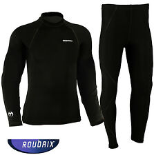 Roubaix Thermal Motorcycle Base Layer Motorbike Under Suit Sports Shirt Trousers