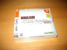 Resident Evil CODE Veronica Sega Dreamcast Japanese Version New Mint