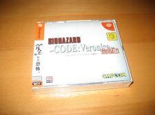 Resident Evil CODE Veronica Sega Dreamcast Japanese Version New Mint
