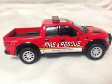 Kinsmart 2013 Ford F-150 SVT Raptor Supercrew 1/46 Scale Fire and Rescue