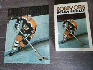 VINTAGE 1971 NHL BOSTON BRUINS BOBBY ORR 500 PIECE JIGSAW PUZZLE HOCKEY