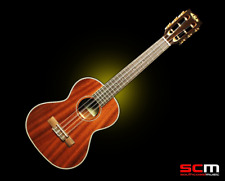 KALA KA-6E 6 String Tenor Ukulele with Pickup Gloss Mahogany Finish FREE P+H!