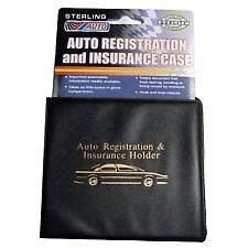1 Auto car registration and insurance wallet NEW
