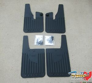 Floor Mats 1994-2020 Dodge Ram OEM LOGO 1500 2500 3500 Front /& Rear Rubber Liner